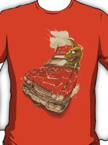 Dinosaur on a Cadillac T-Shirt