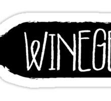 """""""Winegeek"""" for Wine Geeks Sticker"""