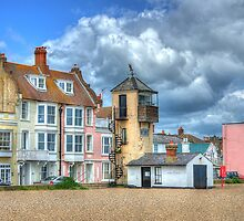 South Lookout Tower Aldeburgh by Chris Thaxter
