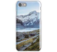 Mueller Lake Hooker Valley Track  iPhone Case/Skin