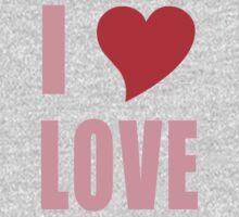 I Heart Love Baby Tee