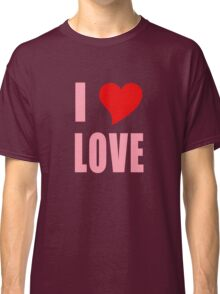 I Heart Love Classic T-Shirt
