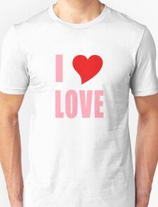 I Heart Love Unisex T-Shirt