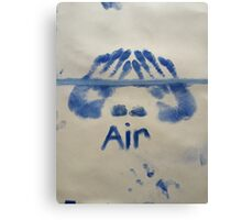 Air (It's All Elementary) Canvas Print