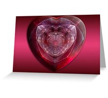 Gem Of A Heart Greeting Card