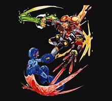 Megaman VS Eggman Unisex T-Shirt