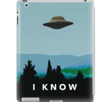 I KNOW! iPad Case/Skin