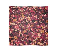 Floral Mirage - Red Scarf
