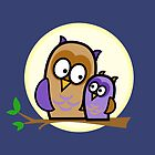Owl Pals by JDBee