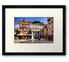 Heroes of Cypriot Struggle Square Framed Print