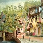 English Village by marie stewart