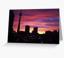 Toronto Ontario Canada Greeting Card