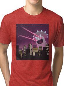 TEACERATOPS DESTROYER OF WORLDS! Tri-blend T-Shirt