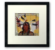 Yankton Sioux Tribe Framed Print