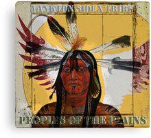 Yankton Sioux Tribe Canvas Print