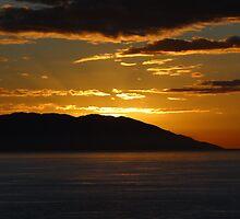 First Sunset 2013 II - Primera Puesta Del Sol 2013 II by Bernhard Matejka