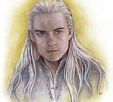 Elven Prince by jankolas