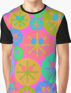 Sweet Happy Smiley Graphic T-Shirt