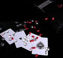 Ace Of Diamonds - Tic Tac Extrordinaire ! by Mark Haynes Photography