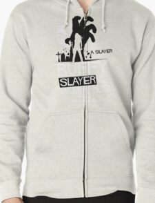 Slayer of the Vampyres Zipped Hoodie