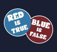 True or False (Dark Version) Kids Tee