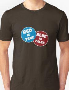 True or False (Dark Version) Unisex T-Shirt