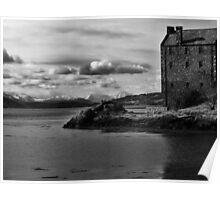 Eilean Donan Castle - Winter Wonderland Poster