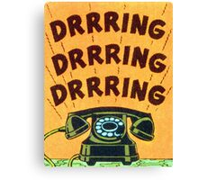 Ringing Telephone Canvas Print