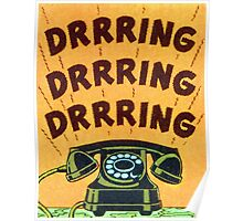 Ringing Telephone Poster