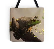 Try Leaping Tote Bag