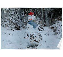 Love my Snowman. Poster