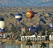 Balloons Over Lake Havasu by tvlgoddess