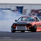 Nissan R33 Skyline drift - Winton Raceway by mcrow5