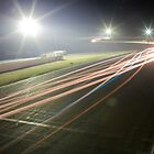 Winton Raceway light trails by mcrow5