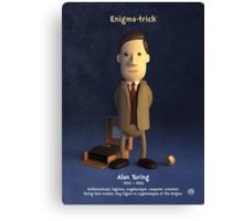 Alan Turing - Enigma-trick Canvas Print