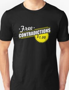 Free Contradictions $1.00 T-Shirt