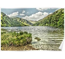Glendalough Upper Lake  Poster