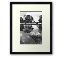 The Wind-swept River Trent at Stapenhill Framed Print