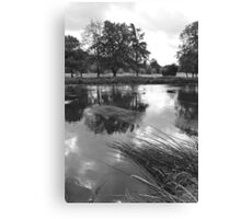 The Wind-swept River Trent at Stapenhill Canvas Print