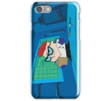 Dexter - Dexter's Laboratory (Production Cel) iPhone Case/Skin