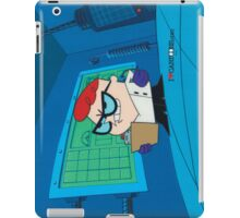 Dexter - Dexter's Laboratory (Production Cel) iPad Case/Skin