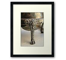 Tarnished Lion Framed Print