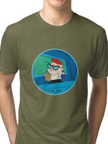 Dexter - Dexter's Laboratory (Production Cel) Tri-blend T-Shirt
