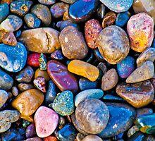 Pretty pebbles by Rebecca Mason