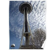 50th Anniversary Seattle Space Needle Poster