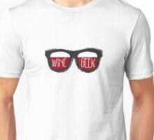 """Geek Glasses"" for Wine Geeks Unisex T-Shirt"