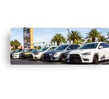 Mitsubishi Roll Call Canvas Print
