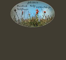 Paintbrush wildflowers, Johnston's Ridge oval Womens Fitted T-Shirt