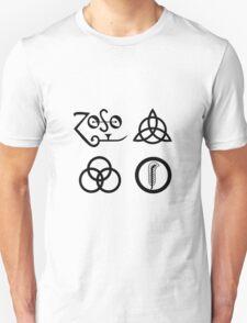 Led Zeppelin IV Symbols T-Shirt
