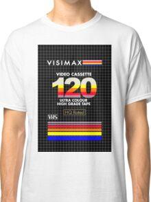 Blank VHS Cover Classic T-Shirt